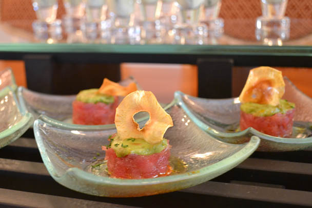 the new york palace tuna tartar
