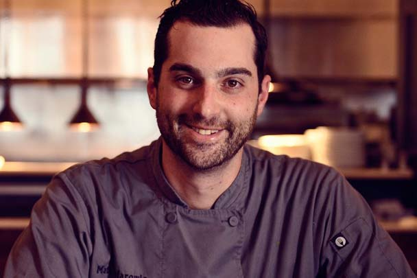 Chef Matt Safarowic Mansion on Broadway