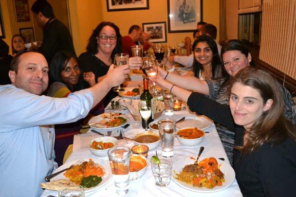 IntoxiKate Dinner at Chutney Masala
