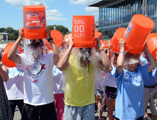 Third Annual Ice Bucket Challenge at Empire City Casino