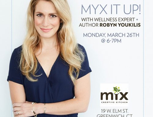 3/26: MYX It Up with Author Robyn Youkilis