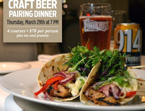 3/29: Yonkers Brewing Co. Craft Beer Dinner at The Roger Sherman Inn