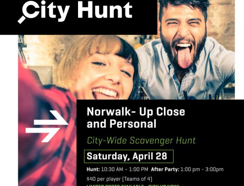 Norwalk Now Presents a City-Wide Adventure: NORWALK CITY HUNT