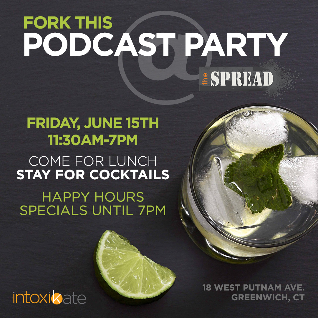 THIS FRIDAY: IntoxiKate hosts Podcast Party at The Spread