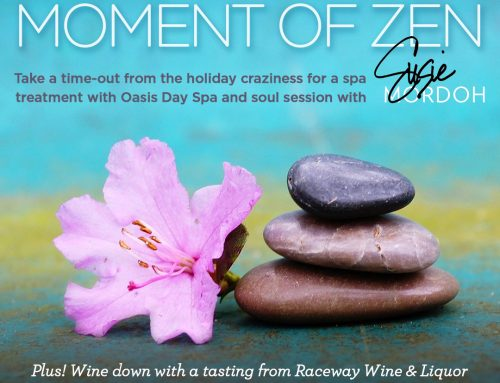 Take a Timeout from the Holidays with a Moment of Zen